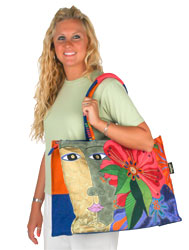Laurel Burch Blossoming Spirit Oversized Tote