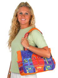 Laurel Burch Three Amigos Medium Tote Bag